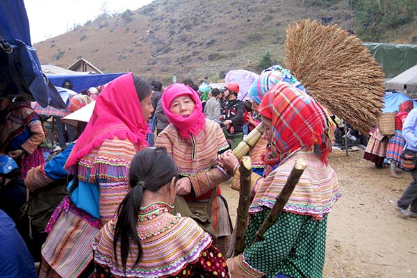 Bac Ha - Northern Vietnam - Market